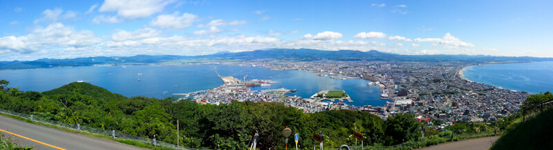 Panorama View of Hakodate