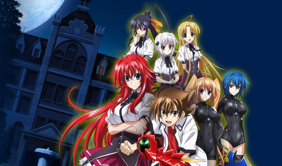 Trailer Game High School DxD untuk 3Ds