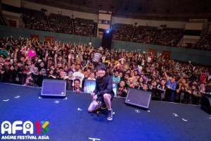 [AFAID 2013] T.M.Revolution Stage Appearance dan Interview