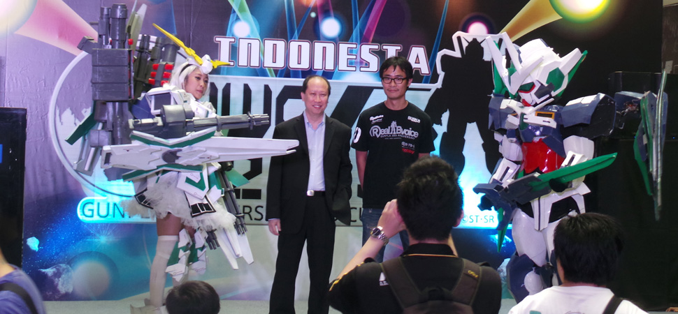 Acara, Cosplay, dan Press Conference di GBWC Indonesia 2013