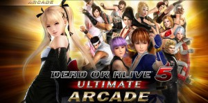 Keadaan di Location Test DOA 5 Ultimate : Arcade @ Club Sega Nishi Shinjuku