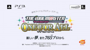 PV Idolm@ster One For All Ditayangkan