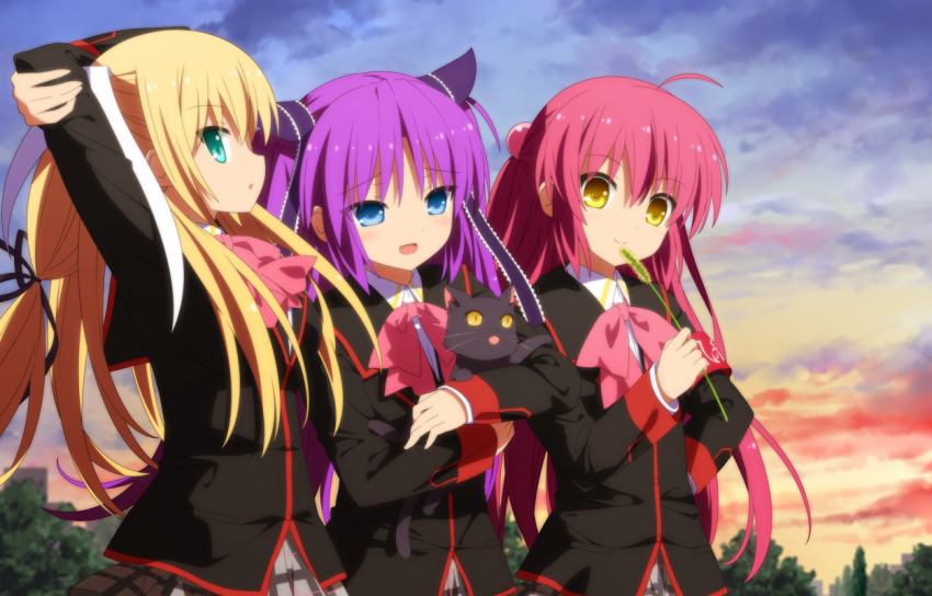 Preview Episode 1 Little Busters! EX Dalam Iklan Bluray Little Busters! Refrain