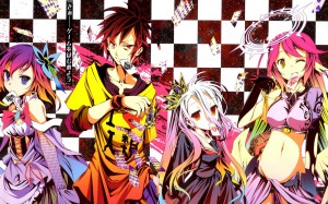 Key Visual Anime No Game, No Life Tampil Sesuai Harapan