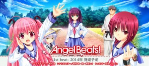 "Visual Novel Angel Beats!-1st beat- ""All Ages"", Sampel Gambar Diperlihatkan"