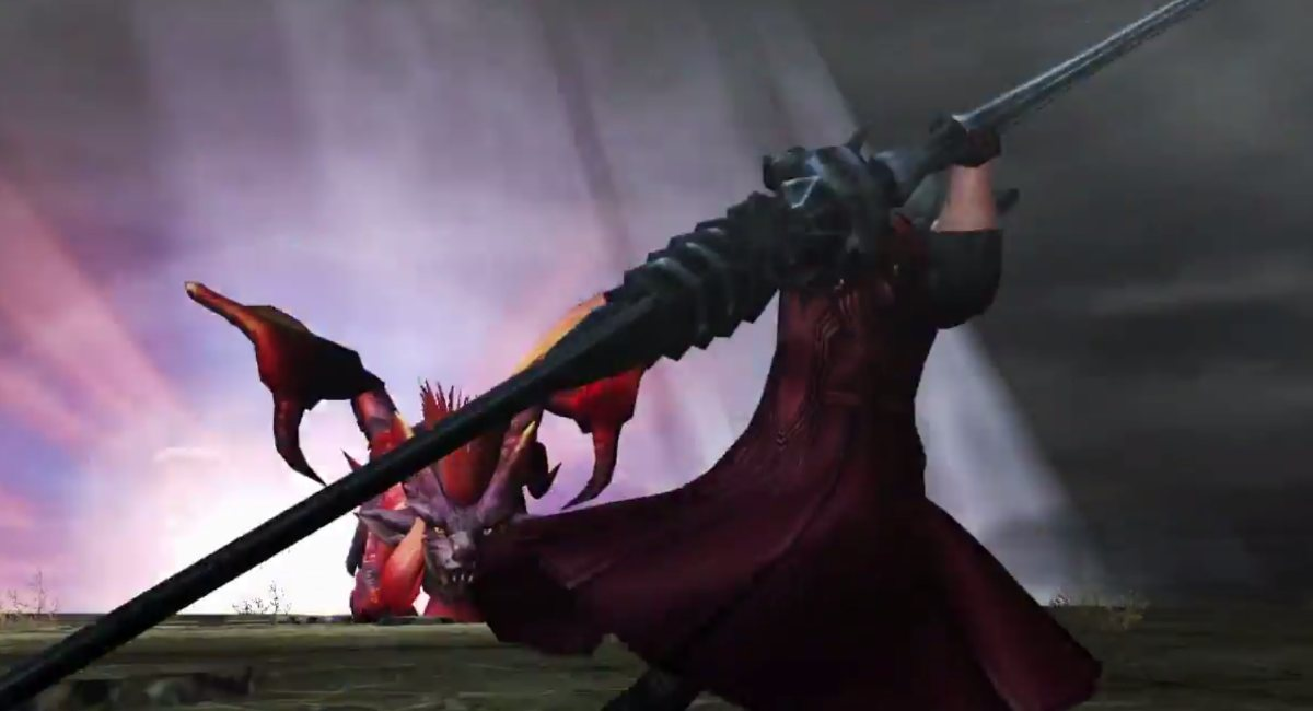 Monter Hunter Frontier G Berkolaborasi dengan Devil May Cry