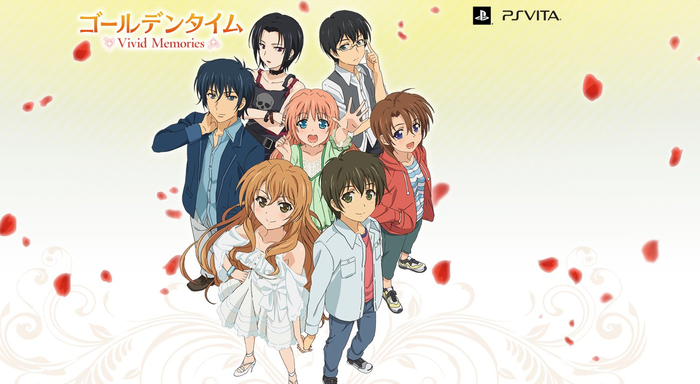Trailer Golden Time: Vivid Memories Ditayangkan