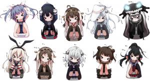 Set Puchi Nendo Kantai Collection Siap Menyerbu Kamarmu