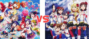 CD Single Terbaru Lovelive VS CD Single Terbaru Idolm@ster : Siapa Yang Menang?