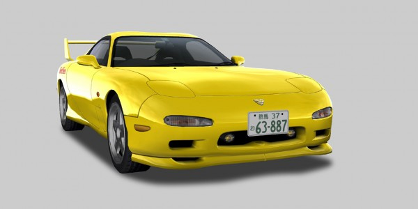 Initial D PSO side chara (4)