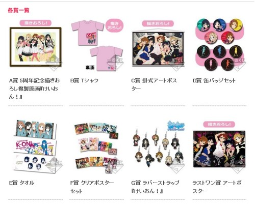 Keion merchandise 5th anniv (2)