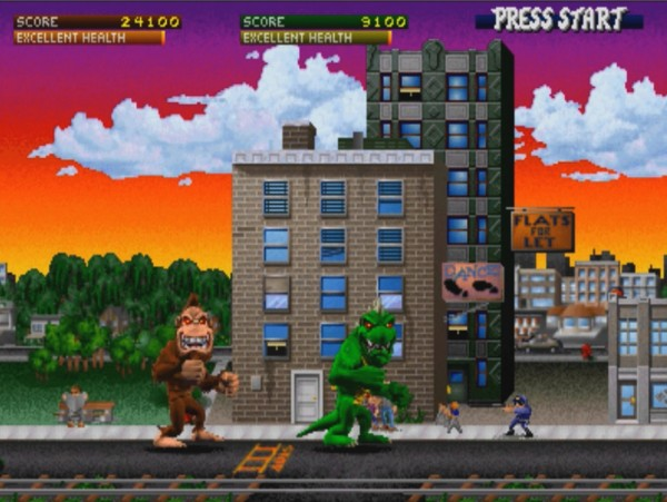 rampage ps1 game