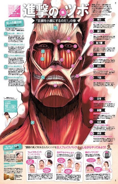 Colossal Titan Face Exercises
