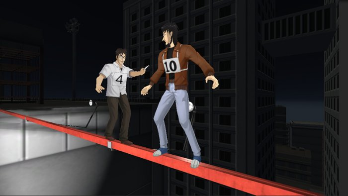 'Kaiji VR: Steel Beam Crossing of Despair' Tuju PlayStation VR