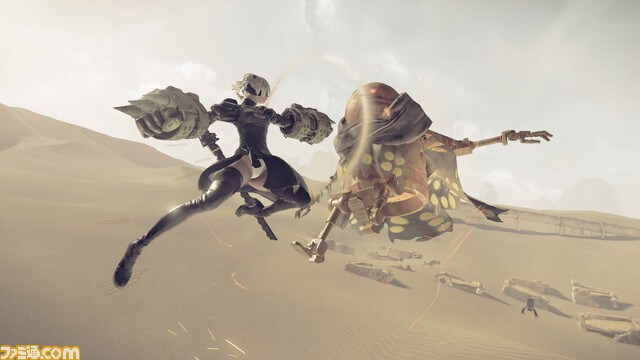 nier-automata-battle-4
