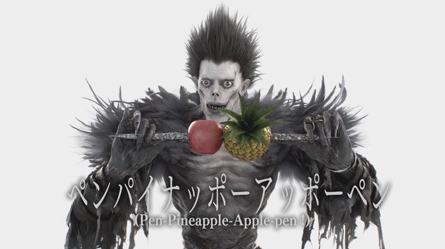 Simak Ryuk dari Death Note Menyanyikan Pen Pineapple Apple Pen (PPAP)