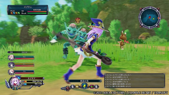 four-goddesses-online-neptune-sistem-battle-2