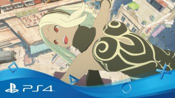 Anime 'Gravity Rush: The Animation - Overture' Ditayangkan di Youtube