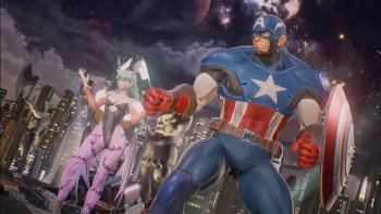 Captain America & Morrigan Hadir di 'Marvel vs. Capcom: Infinite'