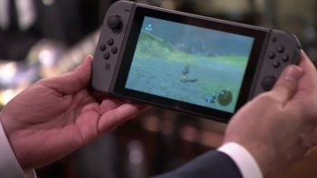 Nintendo Switch Dipamerkan dalam 'The Tonight Show Starring Jimmy Fallon'