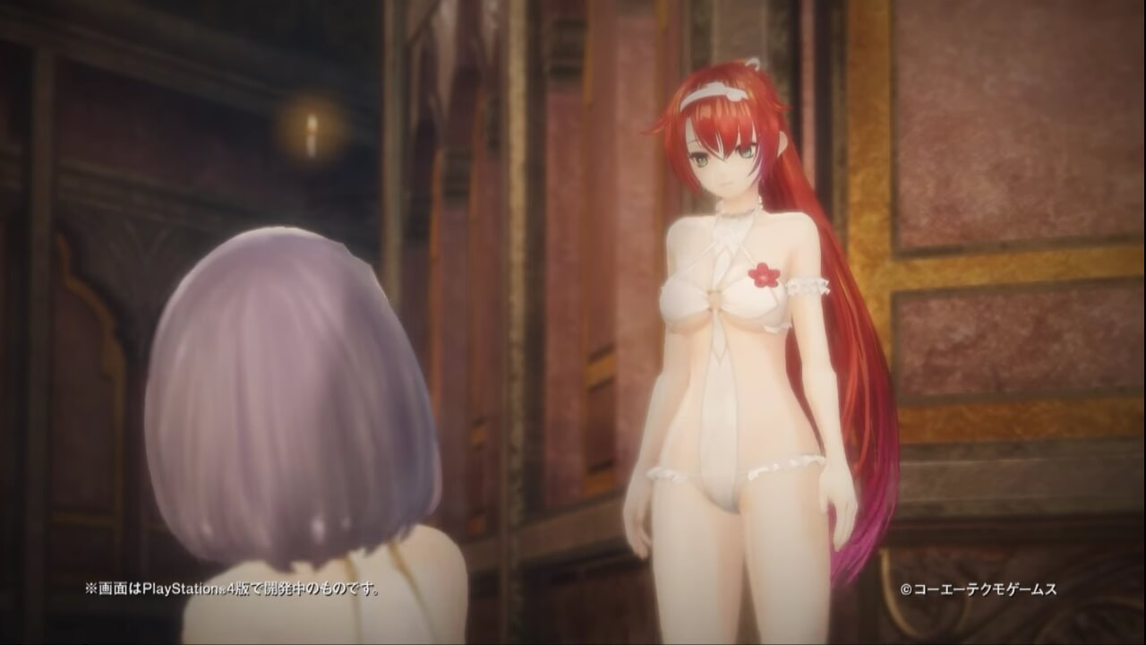 'Nights of Azure 2' Tayangkan Trailer Forbidden Lily Plus