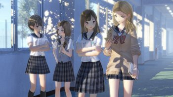 Ungkap 2 Trailer Baru, 'Blue Reflection' Detilkan Growth System