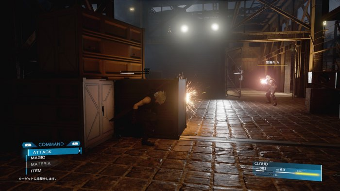Pertarungan di 'Final Fantasy VII Remake' Berbasis Action
