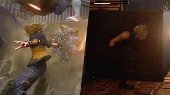 'Kingdom Hearts III' & 'Final Fantasy VII Remake' Ungkap Screenshot Baru