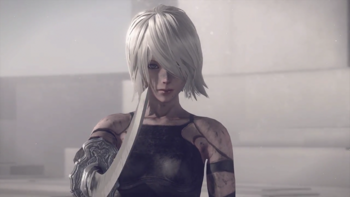 "'NieR: Automata' Merilis Trailer ""Glory to Mankind 119450310"""