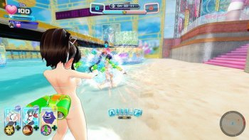 Pistol Air di 'Senran Kagura: Peach Beach Splash' Punya 2 Mode Tembakan