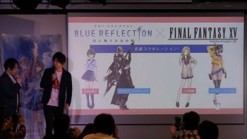 'Blue Reflection' Hadirkan Kolaborasi dengan Final Fantasy XV