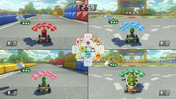 'Mario Kart 8 Deluxe' Tayangkan Banyak Video Battle Mode