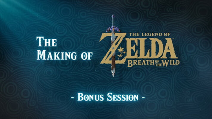 'The Making of the Legend of Zelda: Breath of the Wild' Tayangkan Video Bonus Session