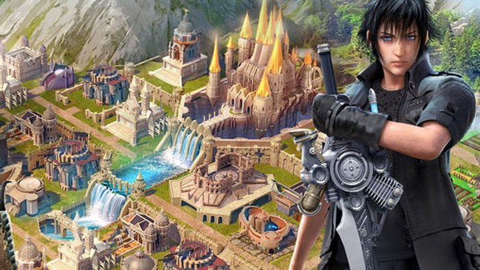 Game Mobile 'Final Fantasy XV: A New Empire' Dirilis