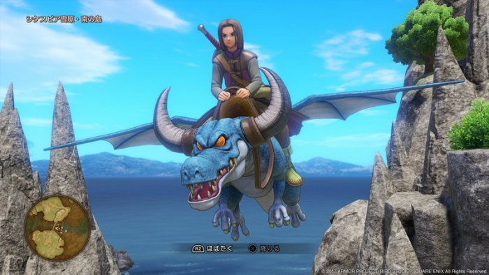 'Dragon Quest XI' Detilkan Sistem Menunggang Monster