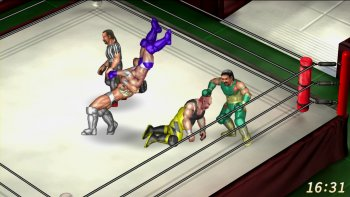 'Fire Pro Wrestling World Steam' Ungkap Konten Steam Early Access