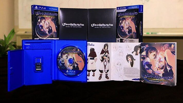 Simak Unboxing dari 'Utawarerumono: Mask of Deception' Launch Edition