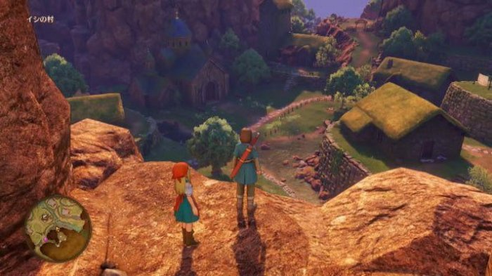 V-Jump Rilis Banyak Video Gameplay 'Dragon Quest XI'