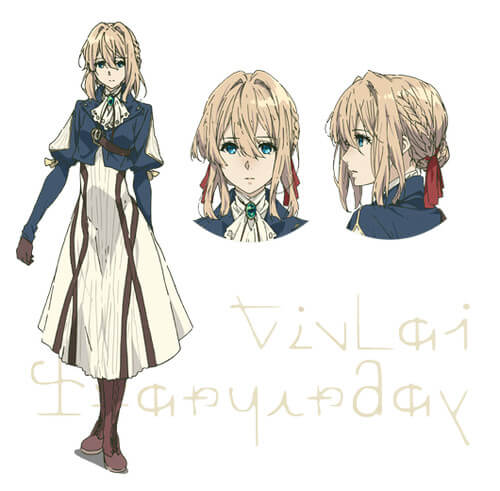 JOI - violet evergarden visual chara announcement (2)
