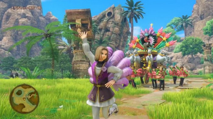'Dragon Quest XI' Pamerkan Gameplay Parade, Labyrinth Beyond Time, & Ominous Bird's Ravine