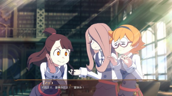 'Little Witch Academia: Chamber of Time' Detilkan Horologium Room, Alur Game