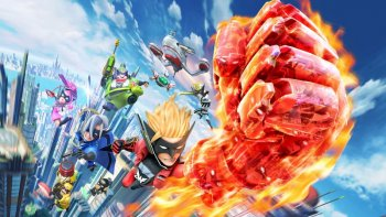 Platinum Games Pamerkan Gambar Karakter 'The Wonderful 101' Bermain Nintendo Switch