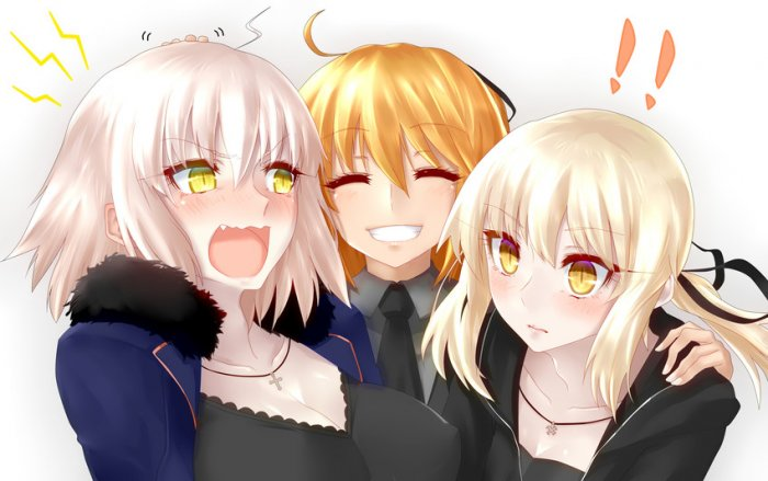 JOI - waifu wednesday jeanne alter dan saber alter (6)
