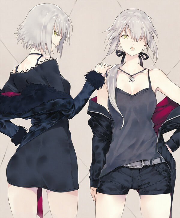 JOI - waifu wednesday jeanne alter dan saber alter (9)