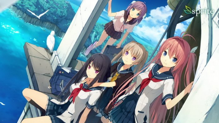 Visual Novel 'Ao no Kanata no Four Rhythm' Tuju Nintendo Switch
