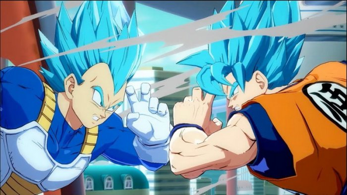 Simak Aksi Super Saiyan Blue Goku & Vegeta di Trailer Terbaru 'Dragon Ball FighterZ'