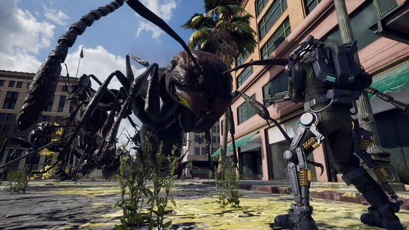 Gameplay Perdana dari 'Earth Defense Force: Iron Rain' Dipamerkan di TGS 2017