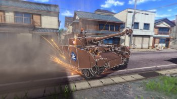 Ungkap Gameplay, Detil Perdana 'Girls Und Panzer: Dream Tank Match' Terungkap