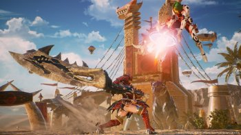 Simak Aksi Monster Hunter di 'Marvel vs. Capcom: Infinite