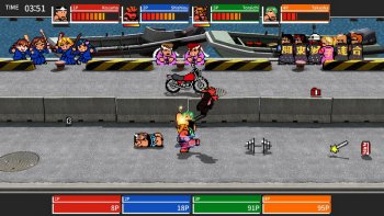 'River City Melee: Battle Royal Special' Tuju PC